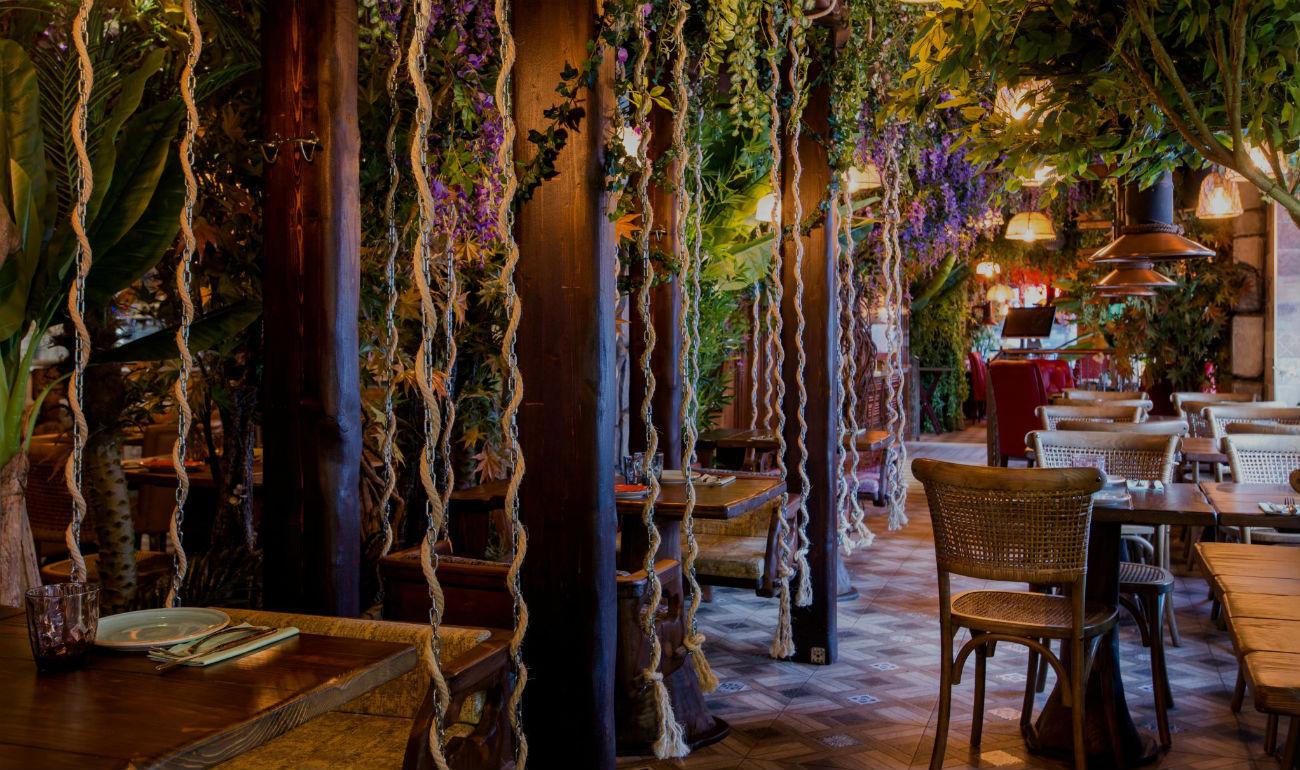La Selva es un restaurante original y con encanto