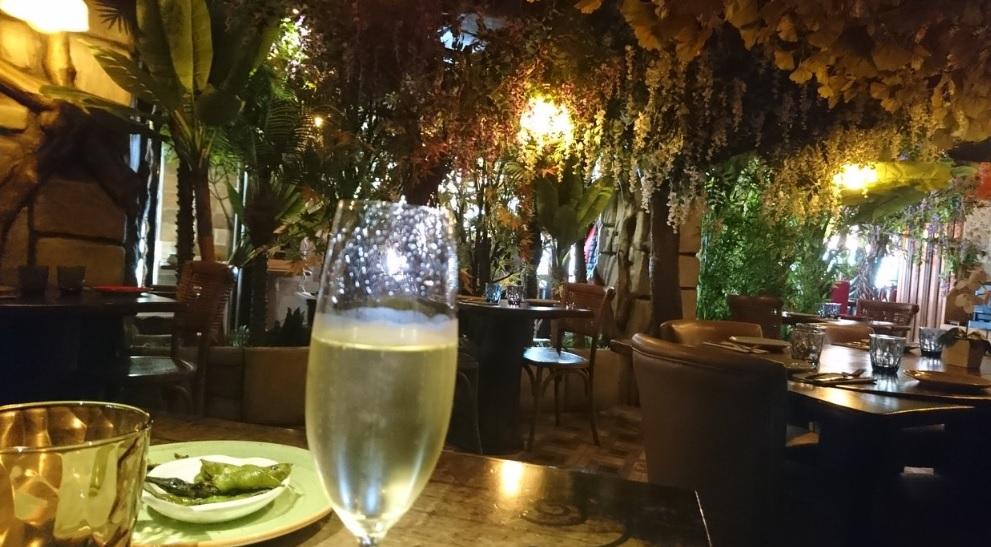 restaurante romantico Sagrada Familia